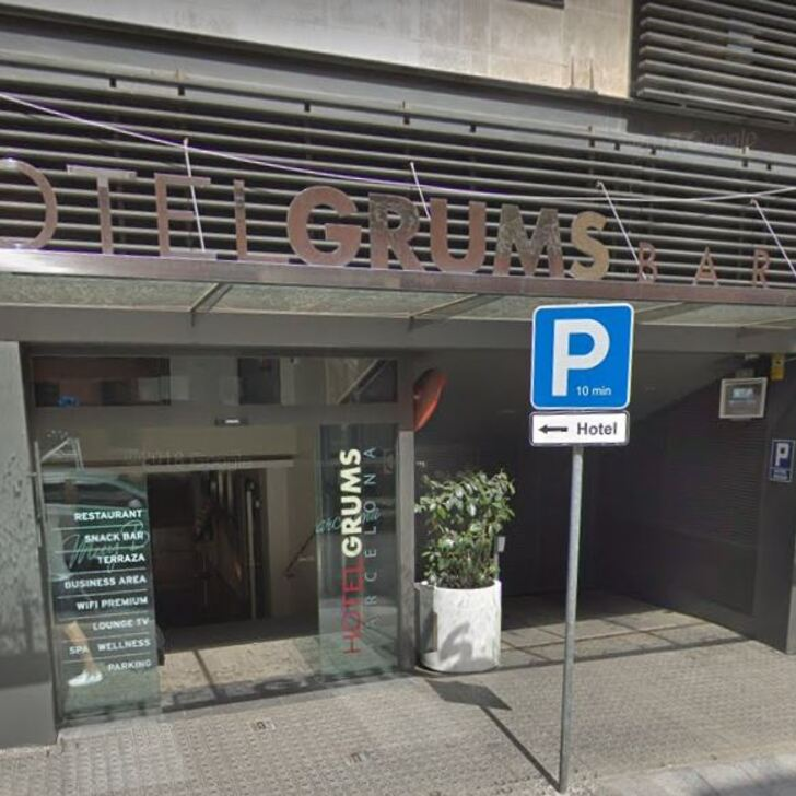 Parking Hotel GRUMS (Cubierto) Barcelona