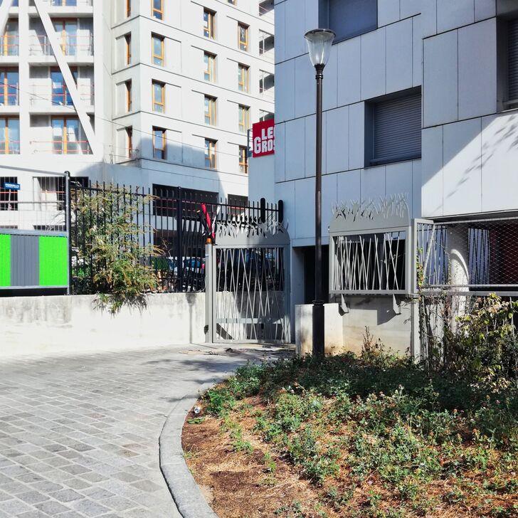 IMPASSE DU GUÉ Parking Privaat Gebouw (Overdekt) Paris