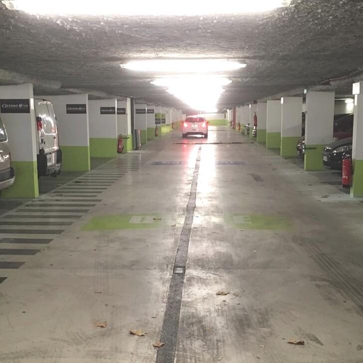 Parking Public BEPARK MARIUS BERLIET (Couvert) Lyon