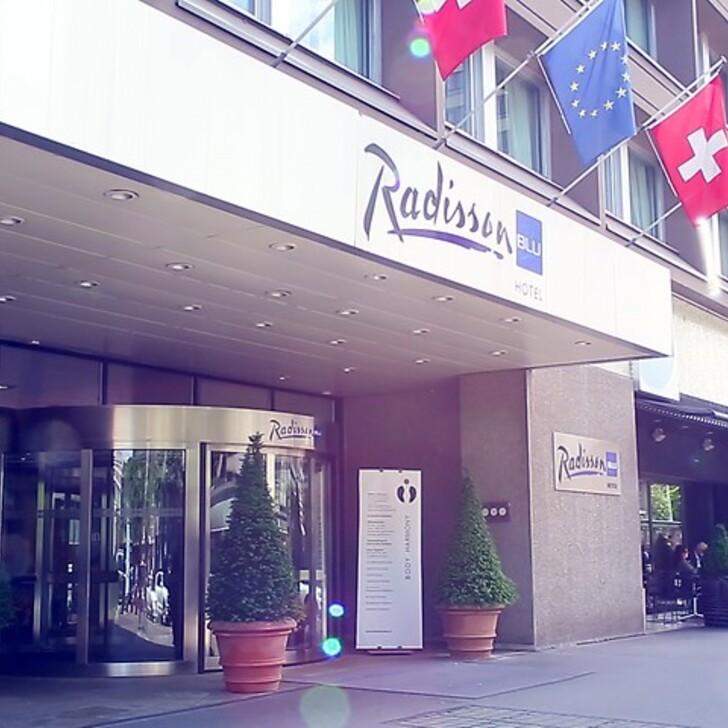 Hotel Parkplatz RADISSON BLU HOTEL BASEL (Überdacht) Basel
