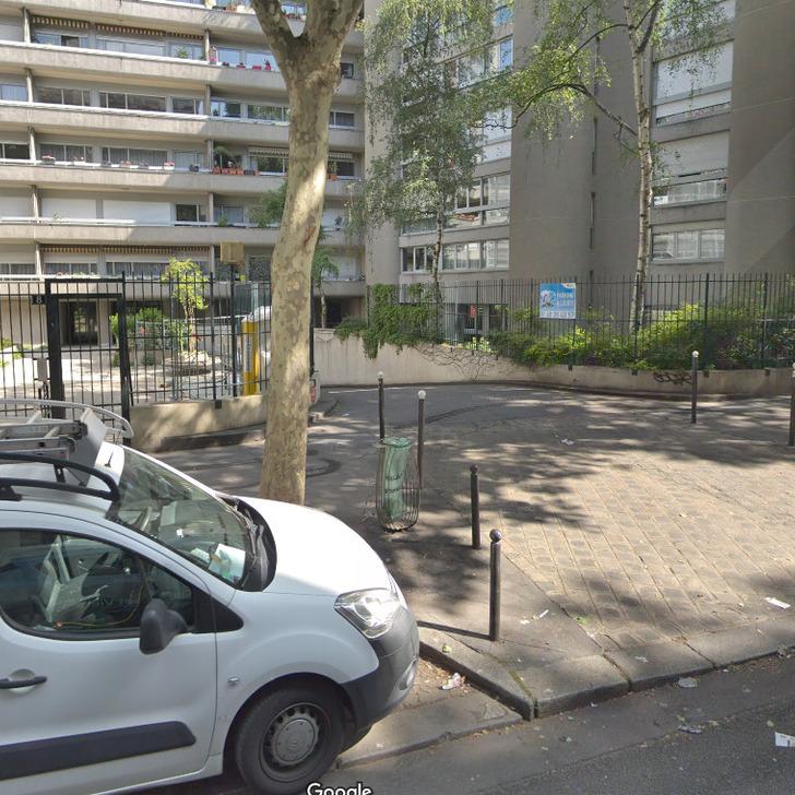 RUE POLIVEAU Parking Privaat Gebouw (Overdekt) Paris