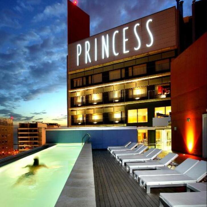 BARCELONA PRINCESS Hotel Parking (Overdekt) Barcelona