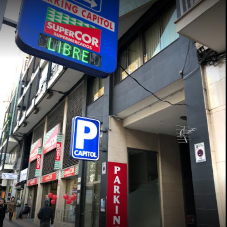 Parking Público GARAJE CAPITOL (Cubierto) Santander