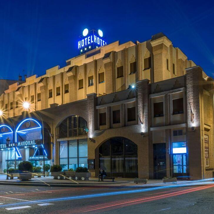 ZENTRAL MAYORAL Hotel Car Park (Covered) Toledo