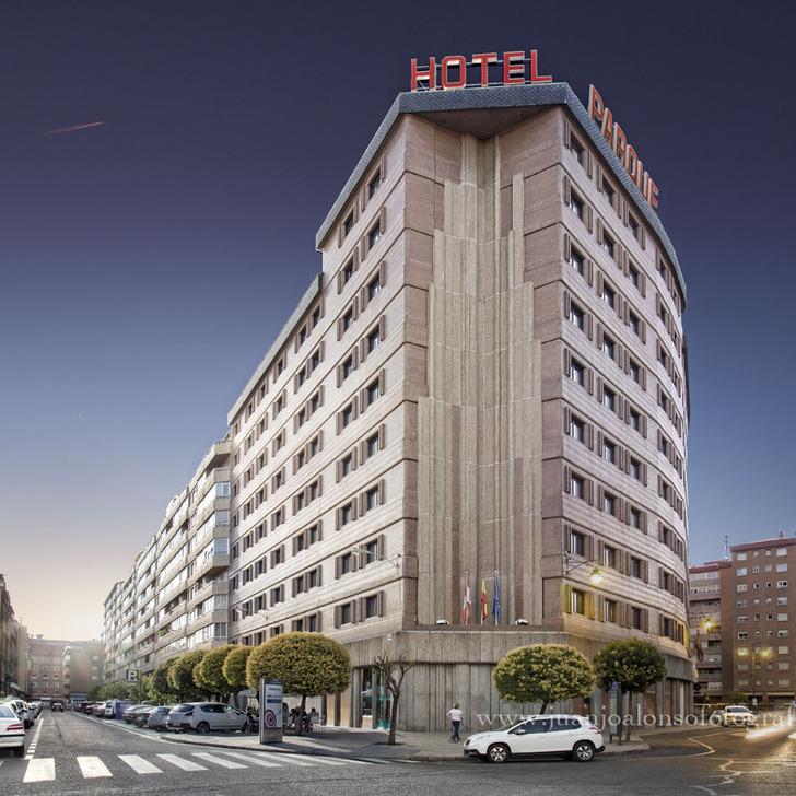 ZENTRAL PARQUE Hotel Car Park (Covered) Valladolid
