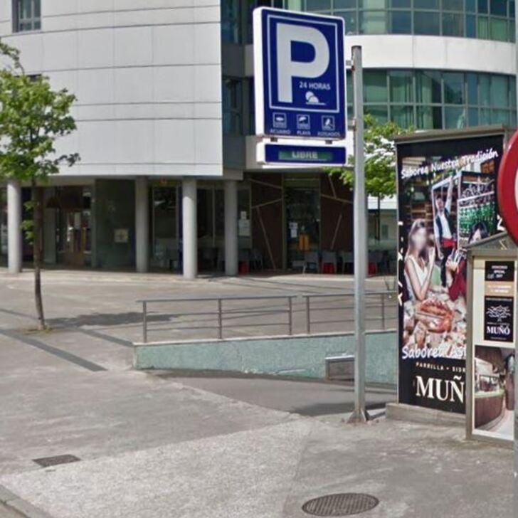 Parking Público PLAYA DE PONIENTE (Cubierto) Gijón