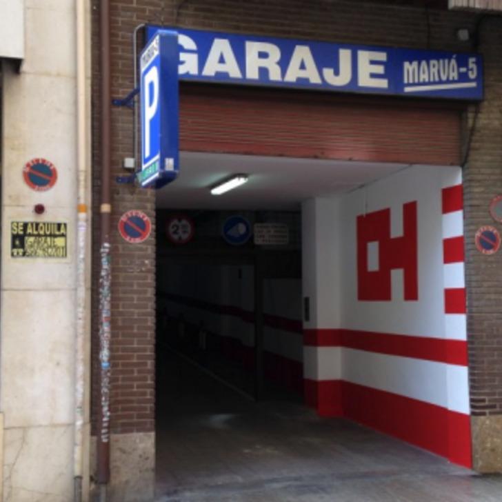 Parking Público GARAJE MARVÁ 5 (Cubierto) Valencia