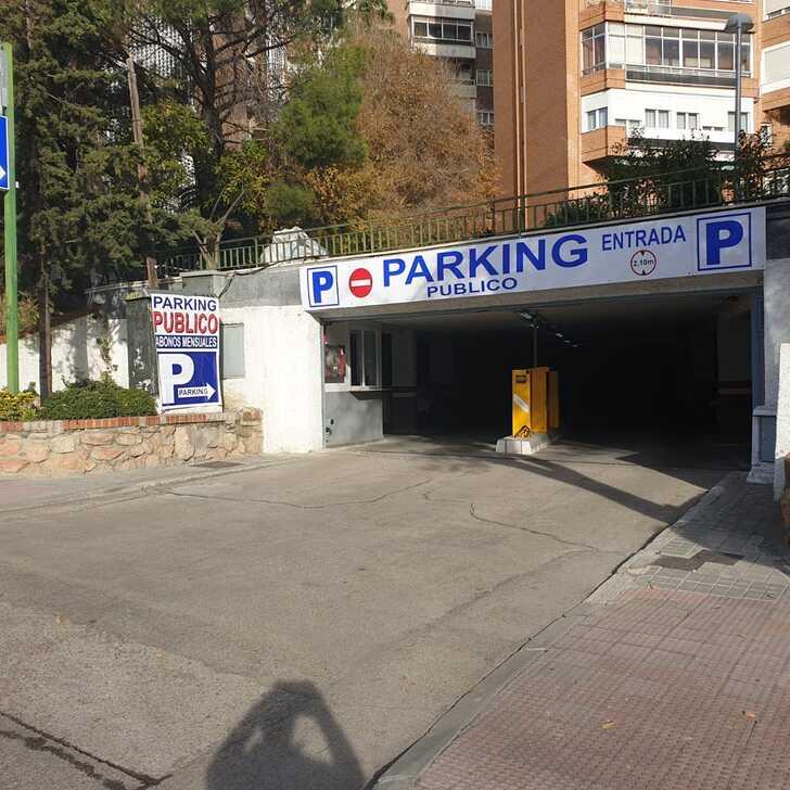 MANOTERAS Public Car Park (Covered) Madrid