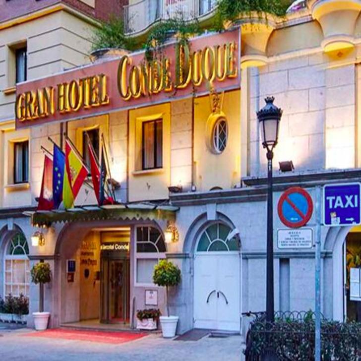 Estacionamento Hotel SERCOTEL GRAN HOTEL CONDE DUQUE (Coberto) Madrid