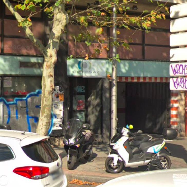 Öffentliches Parkhaus LAVPARKING (Überdacht) Madrid