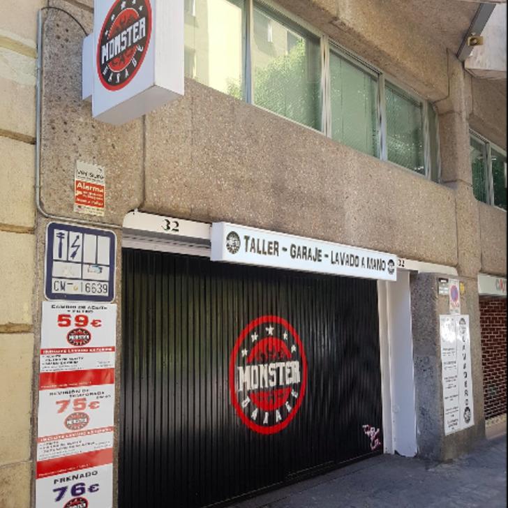 Parking Public GARAJE MONSTER (Couvert) Madrid