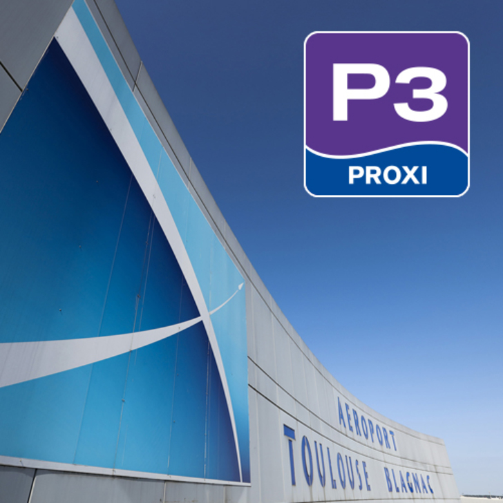 AÉROPORT TOULOUSE-BLAGNAC - P3 Officiële Parking (Exterieur) Blagnac