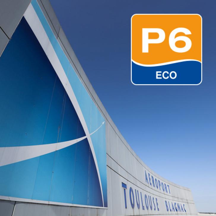 AÉROPORT TOULOUSE-BLAGNAC - P6 Officiële Parking (Exterieur) Blagnac