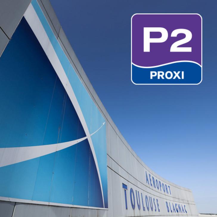 AÉROPORT TOULOUSE-BLAGNAC - P2 Officiële Parking (Overdekt) Blagnac