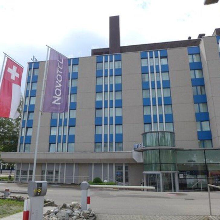 Estacionamento Hotel NOVOTEL ZÜRICH AIRPORT (Exterior) Opfikon