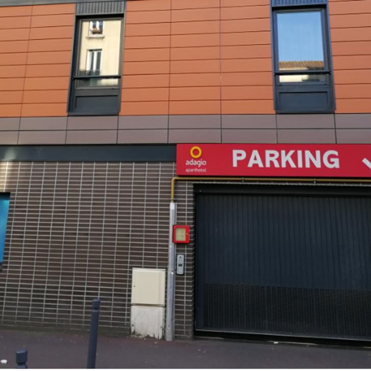 APARTHOTEL ADAGIO PARIS MALAKOFF CHÂTILLON Hotel Parking (Overdekt) Malakoff