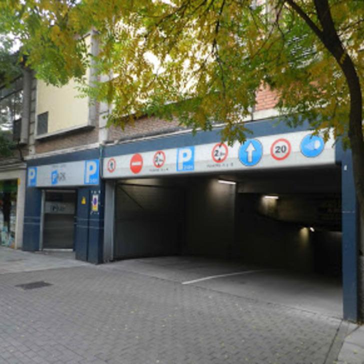 Parking Público ORTEGA Y GASSET PARK (Cubierto) Madrid