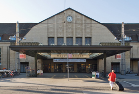 Parkhaus Hauptbahnhof Karlsruhe in Karlsruhe : Preise und Angebote - Parken am Bahnhof   Onepark