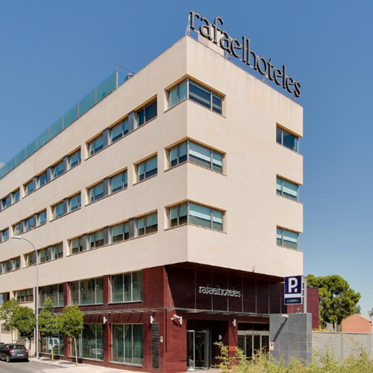 Estacionamento Hotel RAFAELHOTELES FORUM ALCALÁ (Coberto) Alcalá de Henares