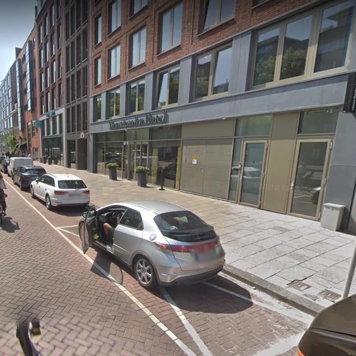 Parkservice Parkhaus WEPARC - VALKENBURGERSTRAAT (Überdacht) Amsterdam