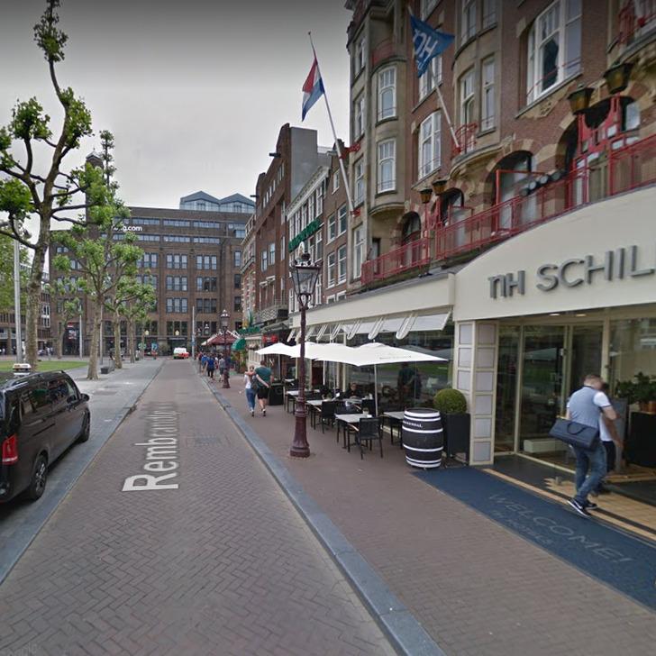 Parking Service Voiturier WEPARC - REMBRANDTPLEIN (Couvert) Amsterdam