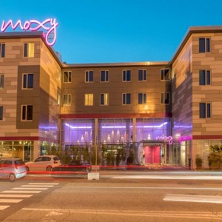 MOXY MILANO MALPENSA Hotel Car Park (External) Somma Lombardo (VA)