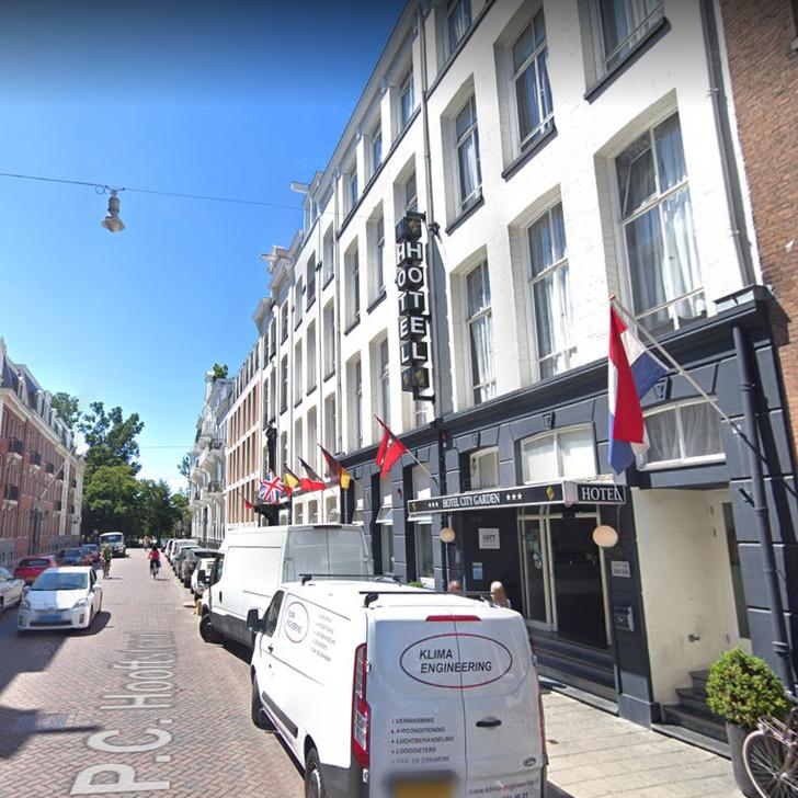 Parking Service Voiturier WEPARC - VONDELPARK (Couvert) Amsterdam