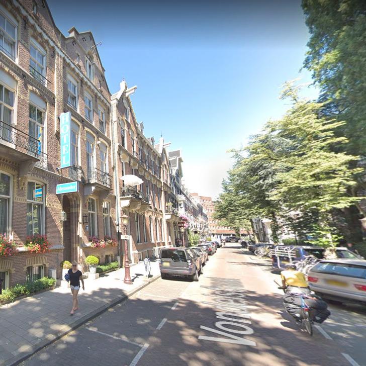 Parking Servicio VIP WEPARC - VONDELSTRAAT (Cubierto) Amsterdam