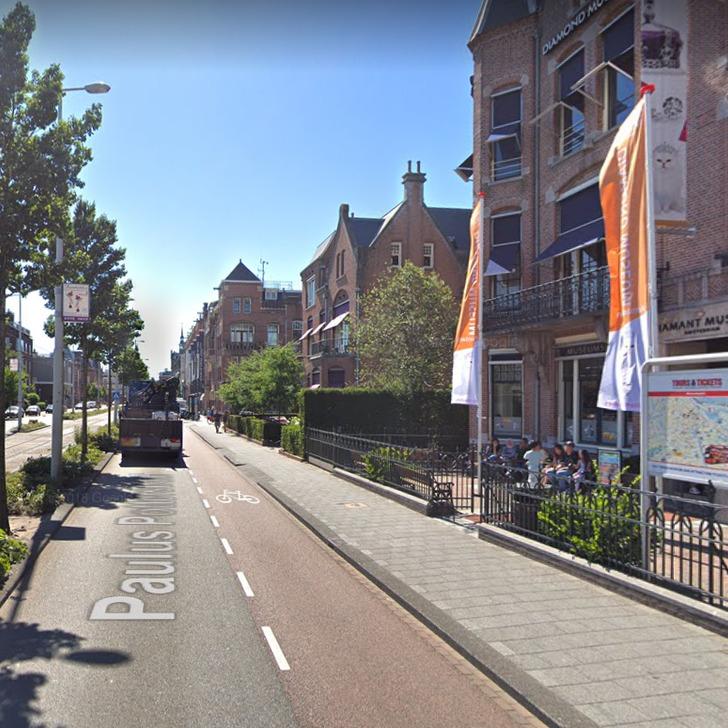 Estacionamento Serviço de Valet WEPARC - MUSEUMSTRAAT (Coberto) Amsterdam
