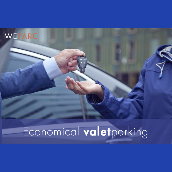 Parking Service Voiturier WEPARC - SCHIPHOL AIRPORT (Couvert) Amsterdam