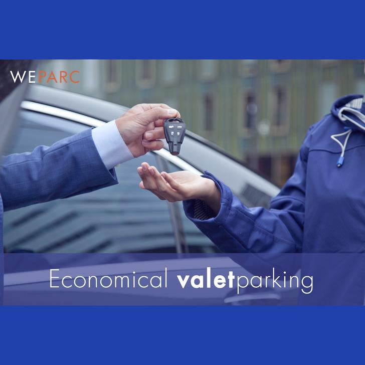 Parking Servicio VIP WEPARC - SCHIPHOL AIRPORT (Cubierto) Amsterdam