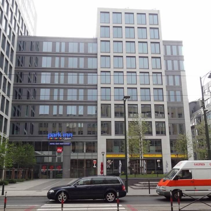 Estacionamento Hotel PARK INN BRUSSELS MIDI (Coberto) Bruxelles