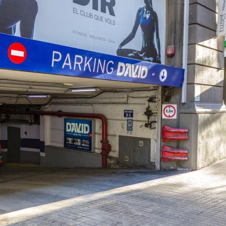 DAVID Openbare Parking (Overdekt) Barcelona