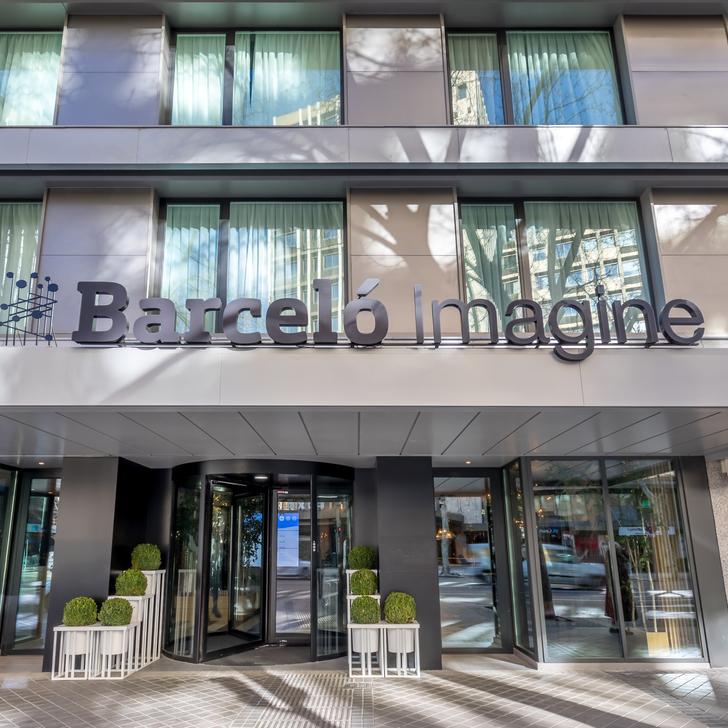 BARCELÓ IMAGINE Hotel Car Park (Covered) Madrid