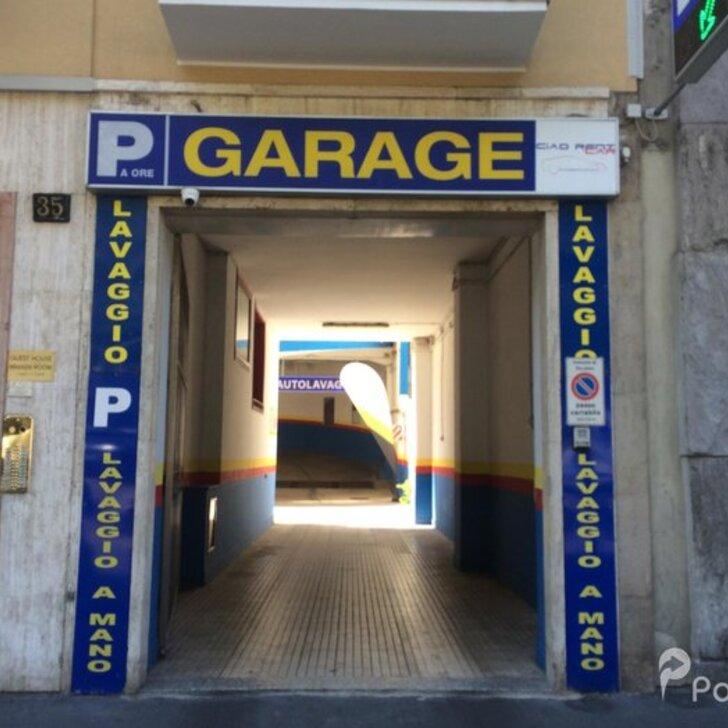Parking Público CENTRAL PARKING CA.TI. (Cubierto) Milano