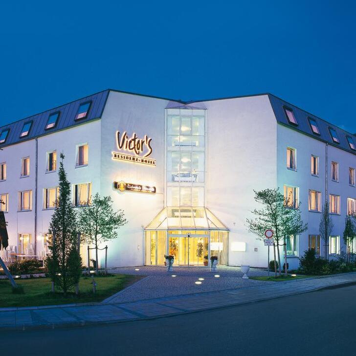 Parking Hôtel VICTOR'S RESIDENZ-HOTEL MÜNCHEN (Couvert) Unterschleißheim