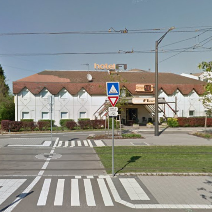 F1 STRASBOURG PONT DE L'EUROPE Hotel Car Park (External) Strasbourg