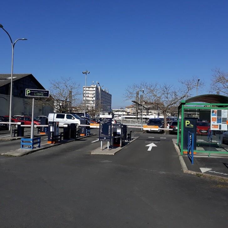 EFFIA GARE DE NIORT Officiële Parking (Exterieur) NIORT