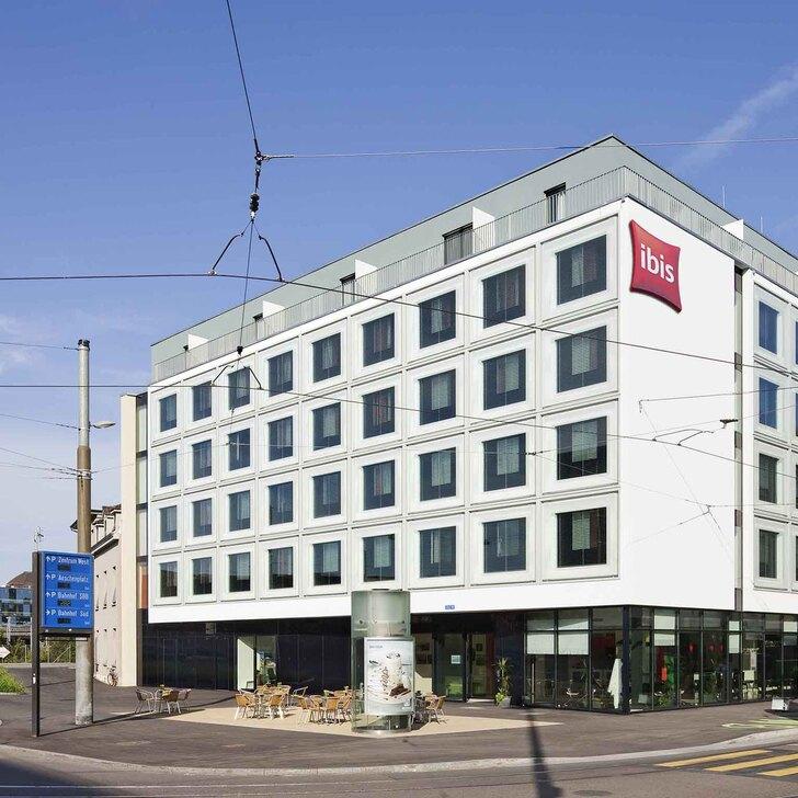Parking Hotel IBIS BASEL BAHNHOF (Cubierto) Basel