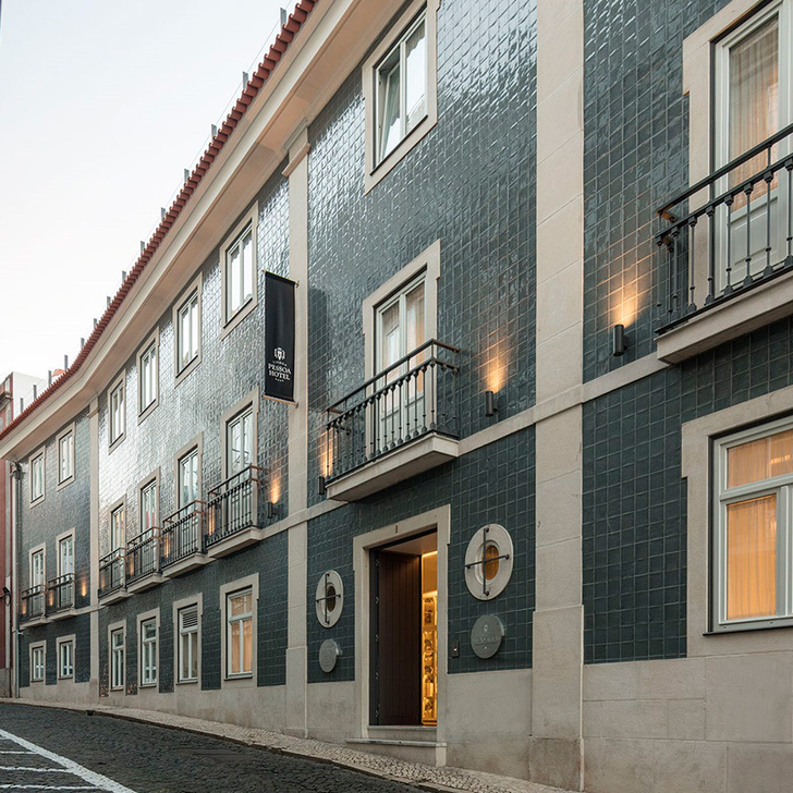 Parking Hôtel LISBOA PESSOA HOTEL (Couvert) Lisboa