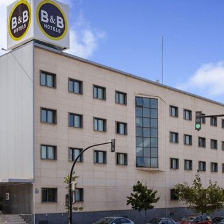Estacionamento Hotel B&B HOTEL GRANADA ESTACIÓN (Coberto) Granada