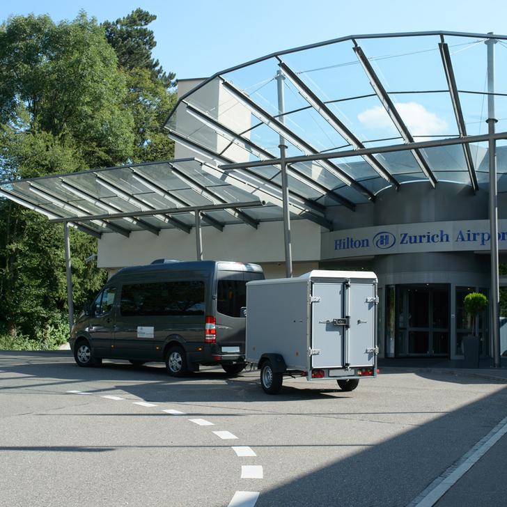 Parking Hotel HILTON ZURICH AIRPORT (Exterior) Opfikon