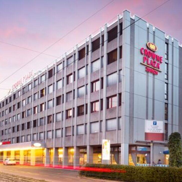 Estacionamento Hotel CROWNE PLAZA ZÜRICH (Coberto) Zürich