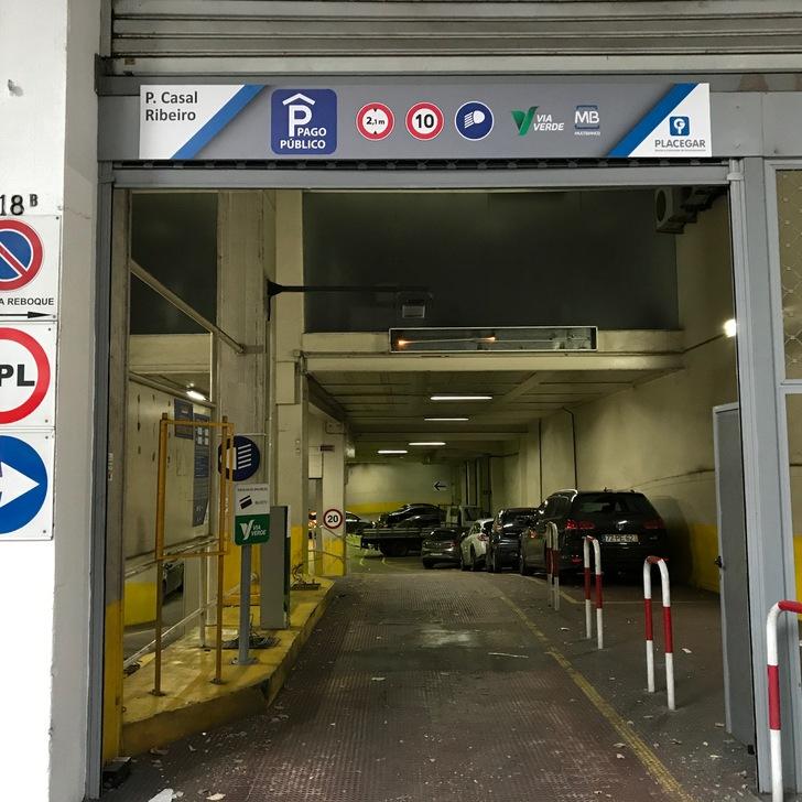 Estacionamento Público PARQUE CASAL RIBEIRO (Coberto) Lisboa