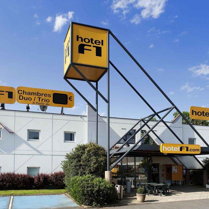 Parking Hotel F1 MULHOUSE BÂLE AÉROPORT (Exterior) Saint-Louis