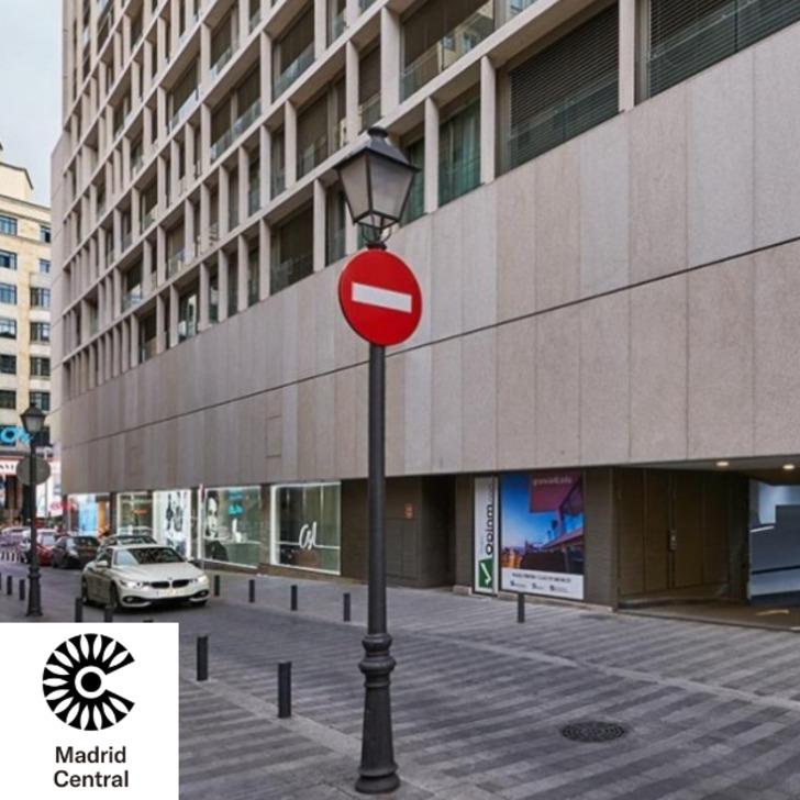 Parkhaus CALLAO SMART PARKING (Überdacht) Madrid