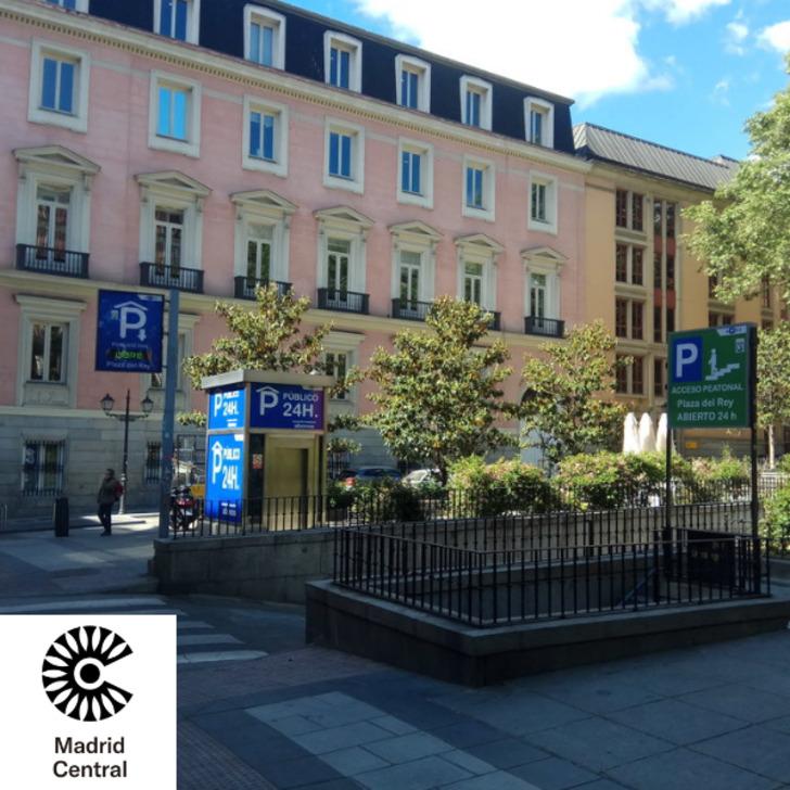 Parking Public APK PLAZA DEL REY (Couvert) Madrid