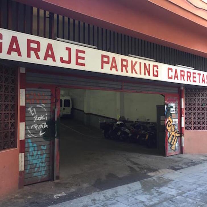Parking Público PARKING CARRETAS 45 (Cubierto) Barcelona
