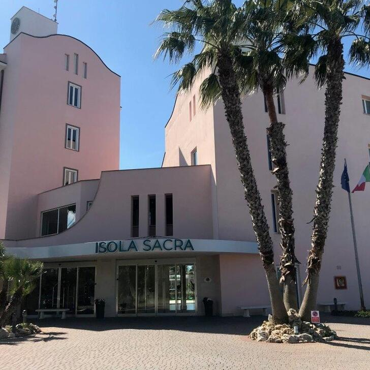Parking Hotel ISOLA SACRA ROME AIRPORT (Exterior) Fiumicino