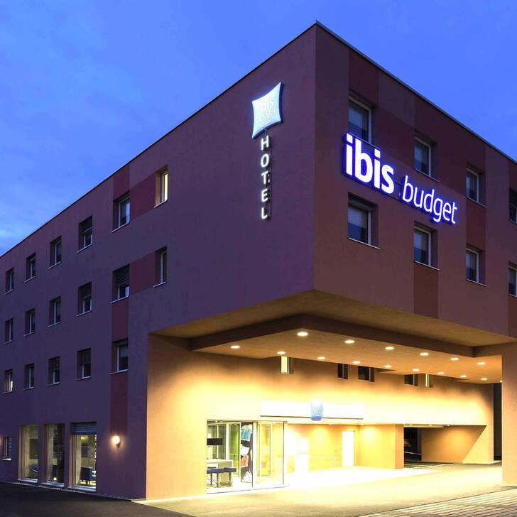Parking Hotel IBIS BUDGET ZÜRICH AIRPORT (Cubierto) Glattbrugg Opfikon
